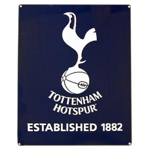 Plechová cedulka Tottenham Hotspur FC