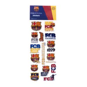 Samolepky plastické Barcelona FC