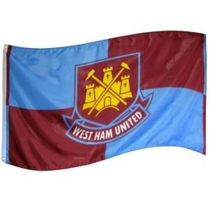 Vlajka West Ham United FC (typ QT)