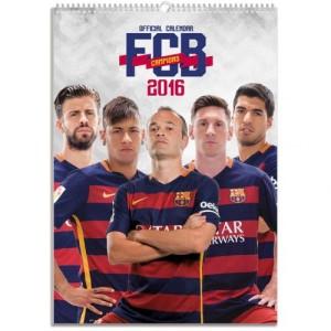 Velký kalendář 2016 Barcelona FC