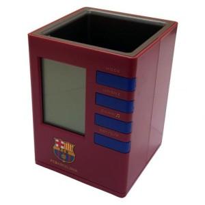 Budík s držákem na tužky Barcelona FC (typ CL)