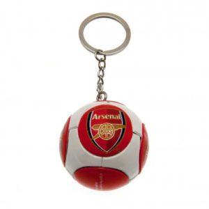 Přívěsek na klíče fotbalový míč Arsenal FC