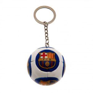 Přívěsek na klíče fotbalový míč Barcelona FC