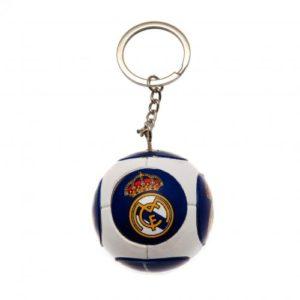 Přívěsek na klíče fotbalový míč Real Madrid FC